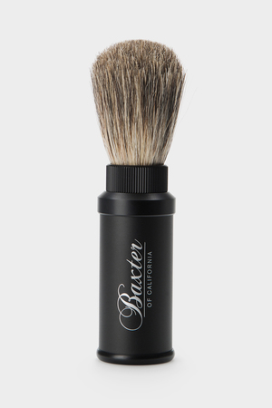 Помазок Baxter of California Aluminum Travel Shave Brush Baxter of California